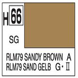 Mr Hobby Aqueous Hobby Colour RLM79 Sandy Brown COD: H66