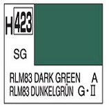 Mr Hobby Aqueous Hobby Colour RLM83 Dark Green COD: H423