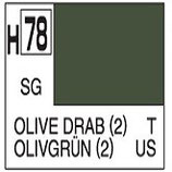 Mr Hobby Aqueous Hobby Colour Olive Drab COD: H78
