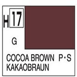 Mr Hobby Aqueous Hobby Colour Cocoa Brown COD: H17