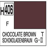 Mr Hobby Aqueous Hobby Colour Chocolate Brown COD: H406