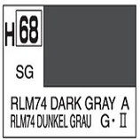 Mr Hobby Aqueous Hobby Colour RLM74 Dark Gray COD: H68