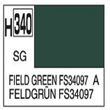 Mr Hobby Aqueous Hobby Colour Field Green FS34097 COD: H340