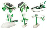6 in 1 Solarbausatz