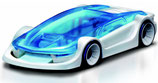 Salzwasser-Modellauto