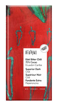 Edel Bitter Chili 70% Cacao 100g