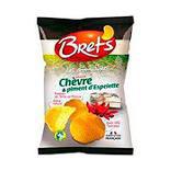 Chips super craquante saveur chèvre piment d'Espelette BRET'S,