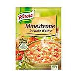 Minestrone à l'huile olive déshydratée KNORR 104g 1L