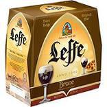Bière brune ABBAYE DE LEFFE, 6,5°, 6x25cl