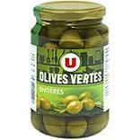Olives vertes entières U bocal 37cl 200G