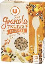 Muesli granola fruits jaunes U 350 gr