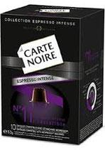 Caps Carte Noire N°11 dosettes rigides
