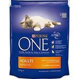 Croquettes pour chat adulte au poulet et céréales complètes Purina ONE450g