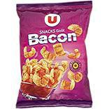 Snacks goût bacon U sachet 60g