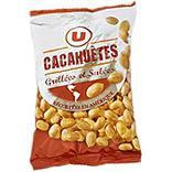 Cacahuètes grillées et salées U étui 250g