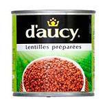 Lentilles préparées D'AUCY, 265g