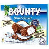 Barres glacées Bounty x6   235 gr