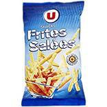Biscuits apéritifs frite U paquet 80g