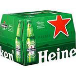 Bière blonde HEINEKEN, 5°, pack de 20 bouteilles de 25cl