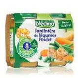 Jardinière légumes/poulet Blédina 2 * 200 gr