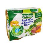 Jardinière boeuf Blédina 2 * 200 gr
