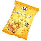 Snacks boule goût fromage U sachet 50g