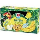 U Gourdes Compote de Pomme Banane  6 * 90 gr