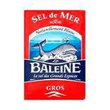 Gros sel iodé LA BALEINE, 1kg