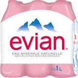 Evian 6x100cl