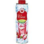 Sirop fraise U bidon 75cl