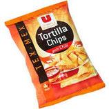Tortilla Chips goût chili U, paquet de 150g