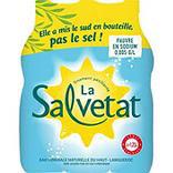 Eau minérale naturelle gazeuse SALVETAT, 6 bouteilles de 1,25 litre