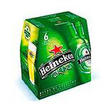 Bière blonde HEINEKEN 5° pack bouteille 6x25cl