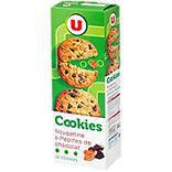 Cookies nougatine/pépites de chocolat U étui 200g