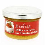 Délice Chèvre Tomates Séchées 90 gr