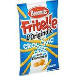 Biscuits apéritif soufflés saveur emmental FRITELLE, 80g