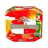 Bière blonde KRONENBOURG, 4,2°, 26x25cl