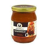 Ratatouille cuisinée en Provençe U SAVEURS bocal 520g