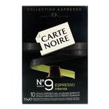 Dosette Caps Carte Noire 9 Dosettes rigides