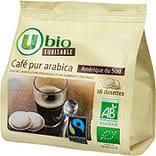 Dosette café U bio 18 * 7 gr