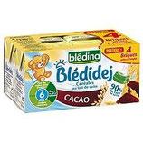 Blédidej cacao Blédina 4 * 250 ml