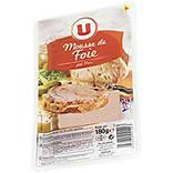 Mousse de foie qualité supérieure pur porc U tranche 180g