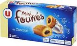 Mini fourré chocolat U 5 * 30 gr