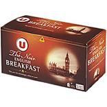 Thé English Breakfast U boîte sachets x25 50g