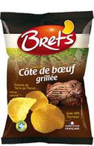 Bret's Chips Côte Boeuf Grillée 125 gr