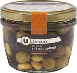 Olives mélanges apéritifs U 250 gr
