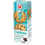 Cookies noix de coco/pépite de chocolat U étui 200g