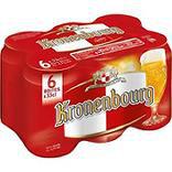 Bière blonde KRONENBOURG, 4,2°, 6x33cl