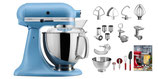 KitchenAid Jubiläums-set Swiss Edition samtblau