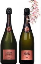 Rosé Vintage 2005 + 2008 Charles Heidsieck